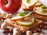Apple & Nut Sandwich